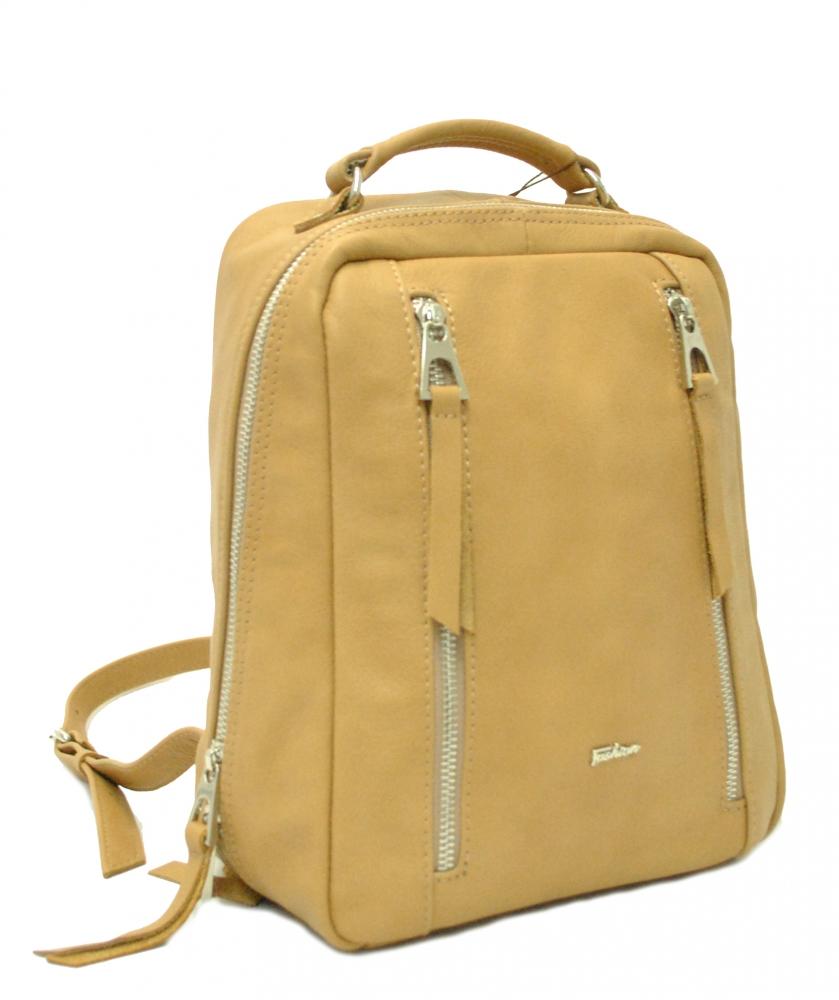 Женский рюкзак 2511 песочный