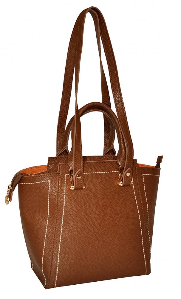 Женская сумка 35522 коричневая
