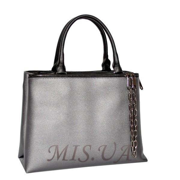 Женская сумка 35668 серебристая