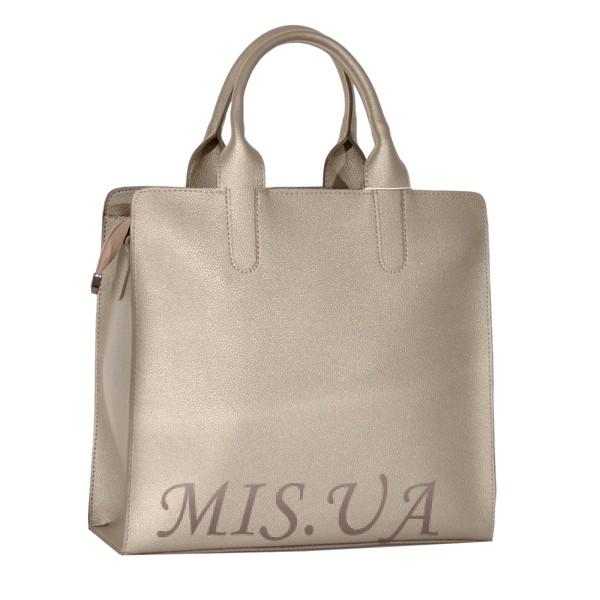 Женская сумка 35644 серебристая
