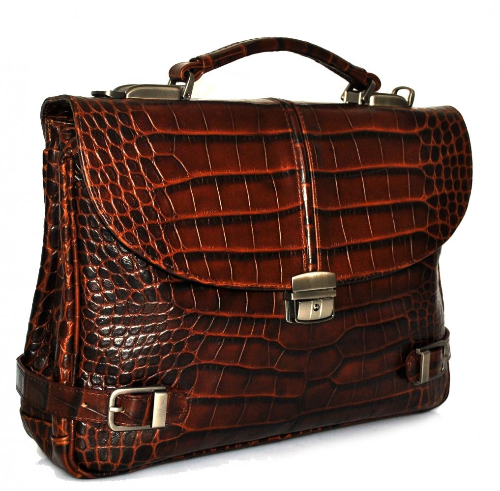 Мужской портфель 4170 светло-коричневый