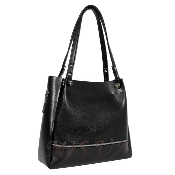 Женская сумка МІС 35865 черная