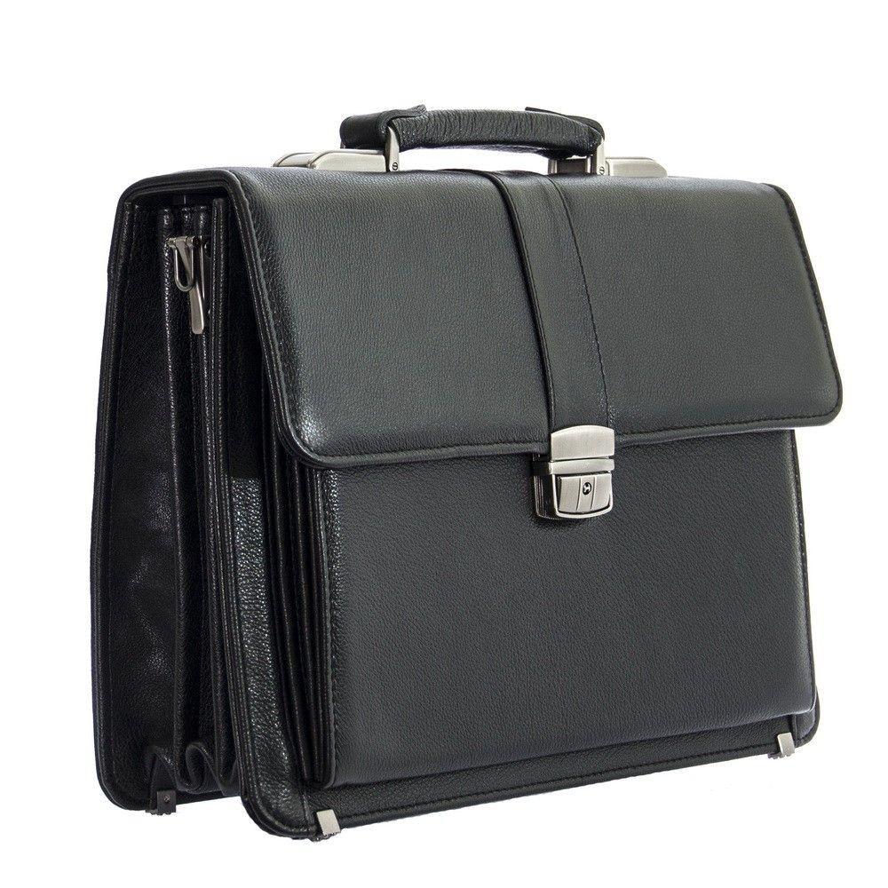 Мужской  портфель 4465 черный