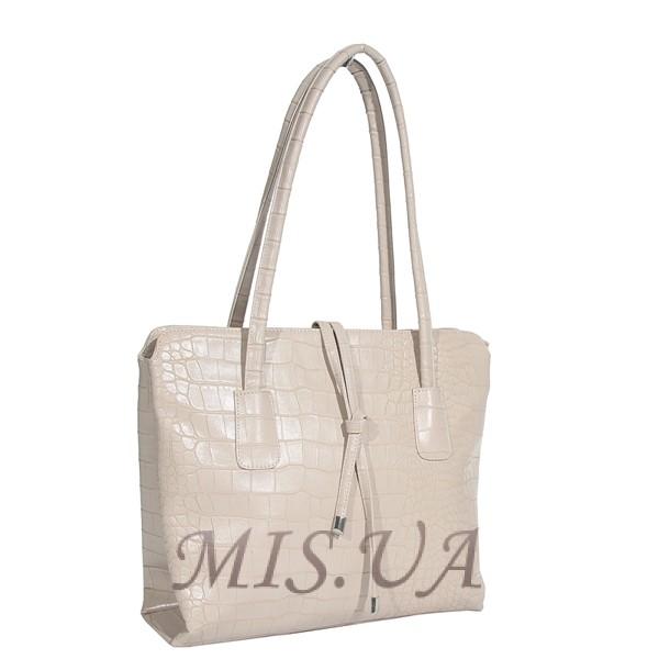 Женская сумка МІС 35860 бежевая
