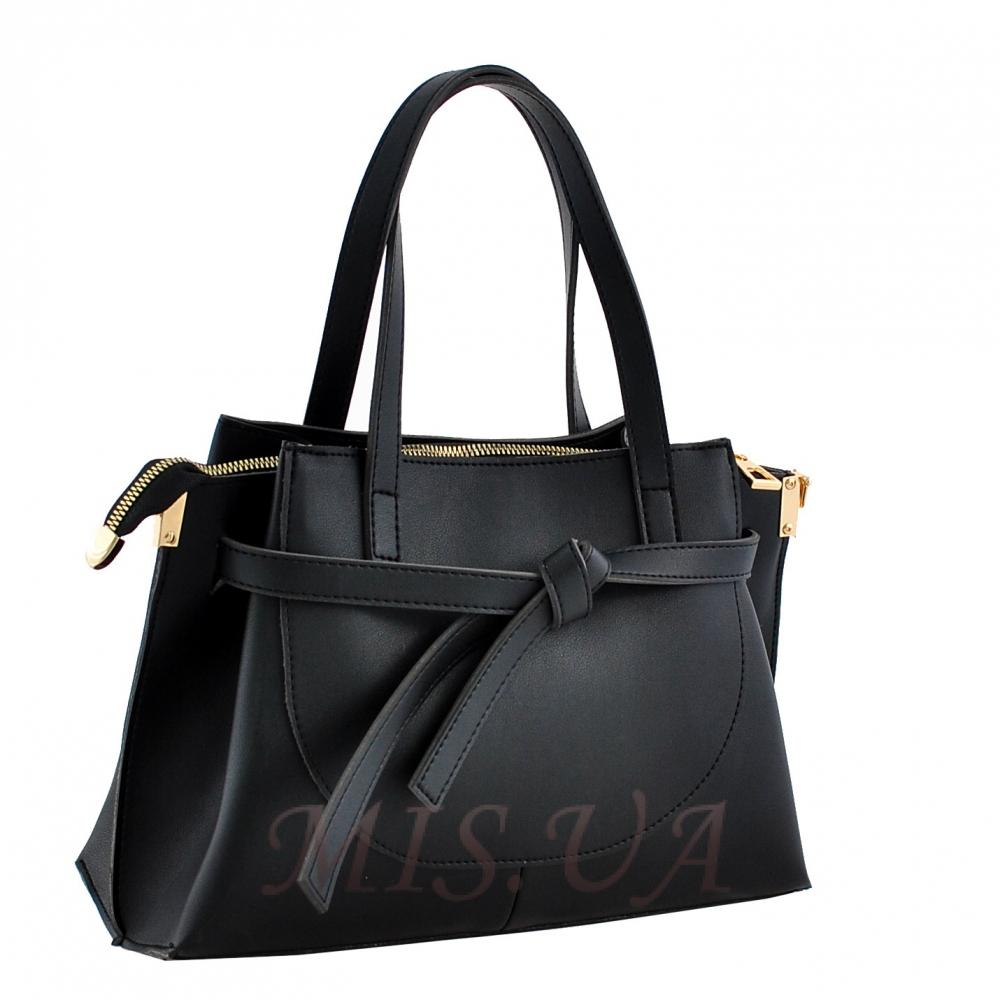 Женская сумка МІС 35710 черная