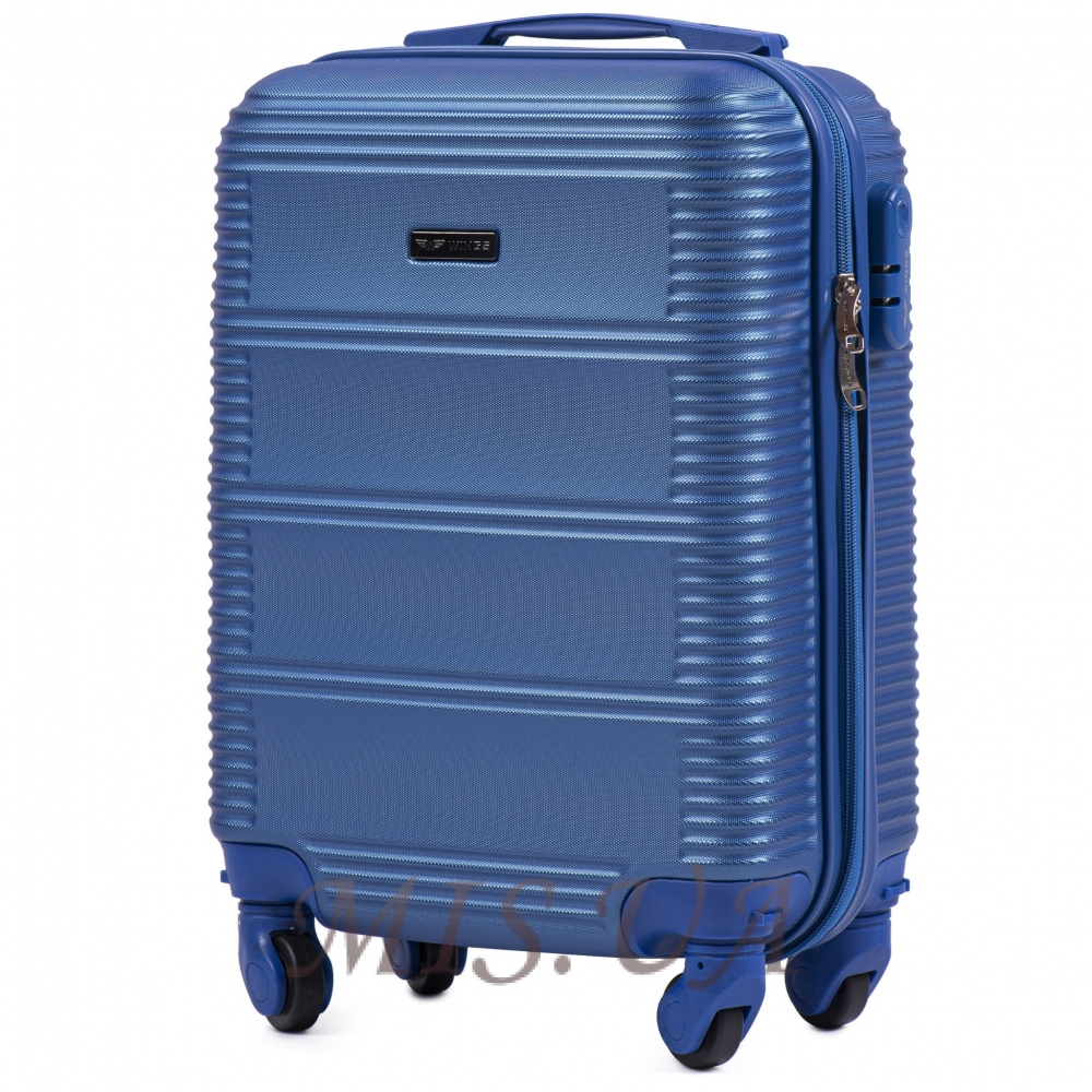Чемодан большой 389504 синий