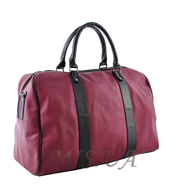 unisex handbag 34260 burgundy