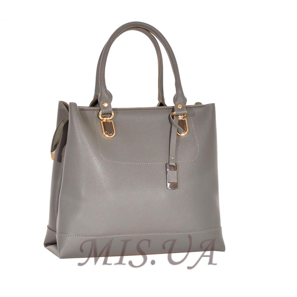 Женская сумка 35636 серая