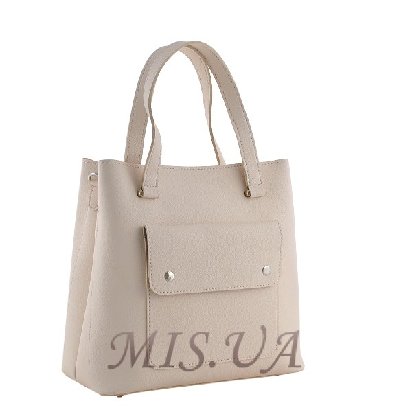 Женская сумка МІС 35759 бежевая