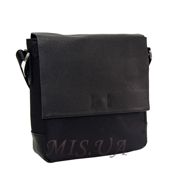 Men's leather bag 0427 is black