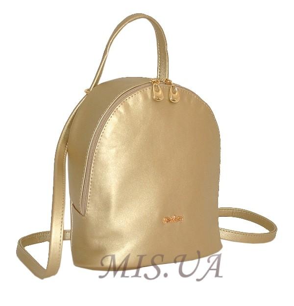Женский рюкзак 35411 золотистый