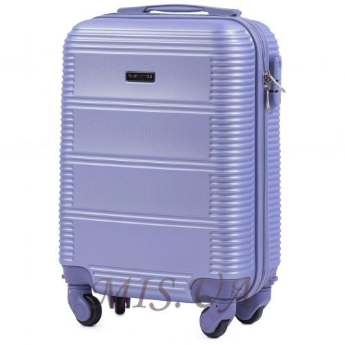 Чемодан ручная кладь 389507 фиолетовый
