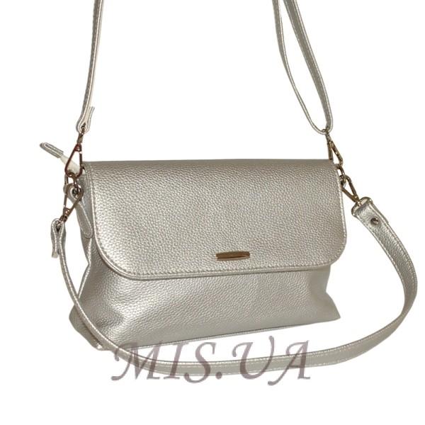 Женская сумка 35591 - 1 серебристая