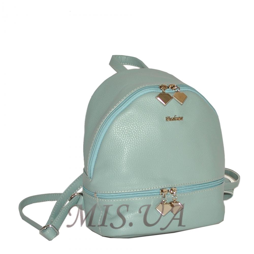 Женский рюкзак 35437-1 голубой