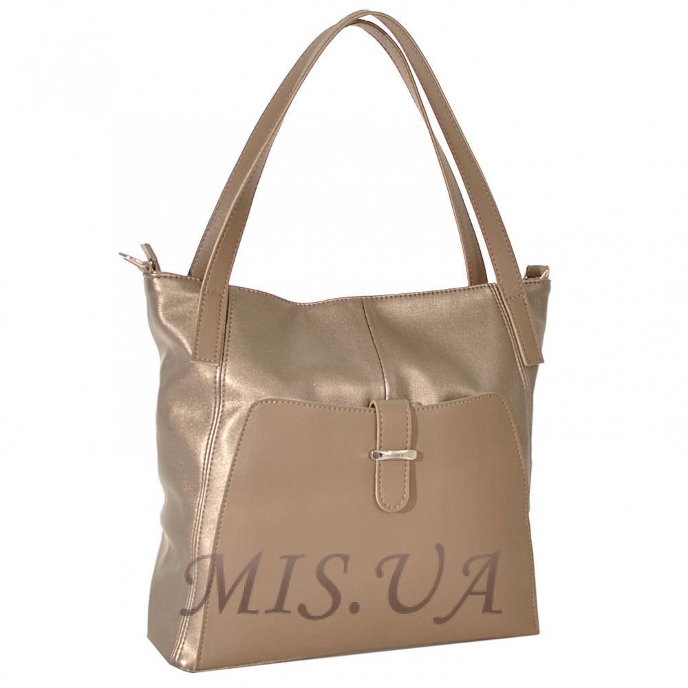 Женская сумка 35648-1 золотистая
