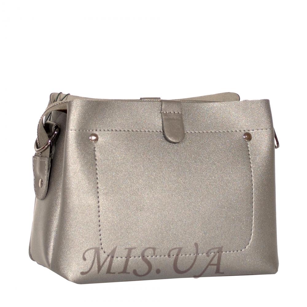 Женская сумка 35605 серебро