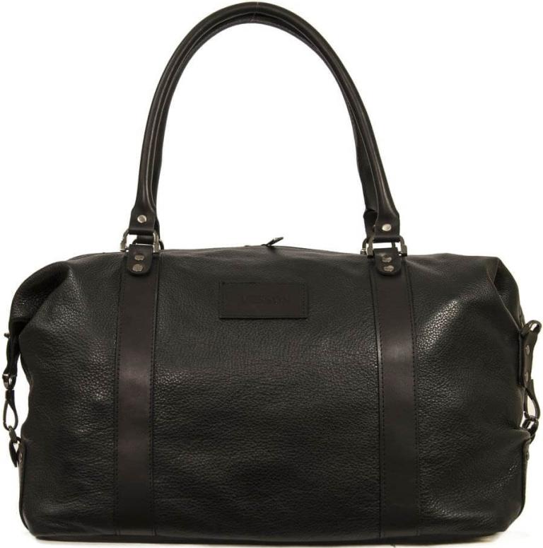 Мужская кожаная сумка 4307 черная