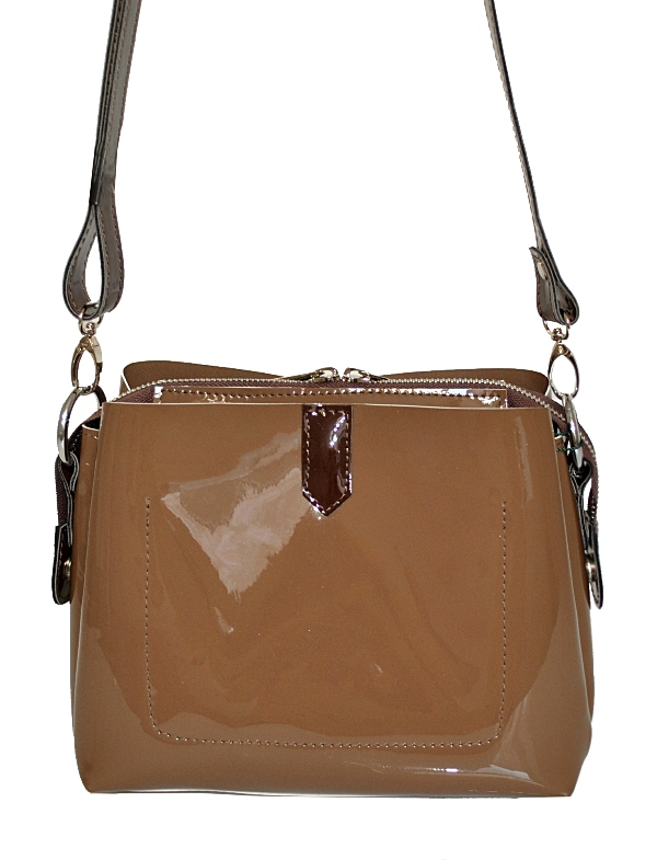 Жіноча сумка 35523- 3 коричнева