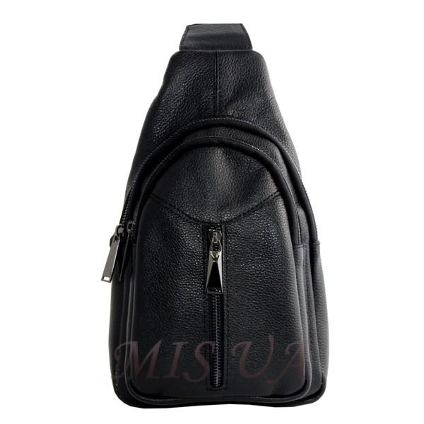 Мужская сумка через плечо Vesson  4526 черная