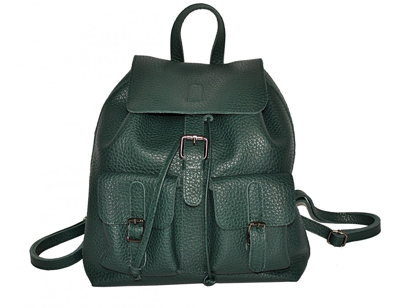 Жіночий рюкзак 2534 зелений