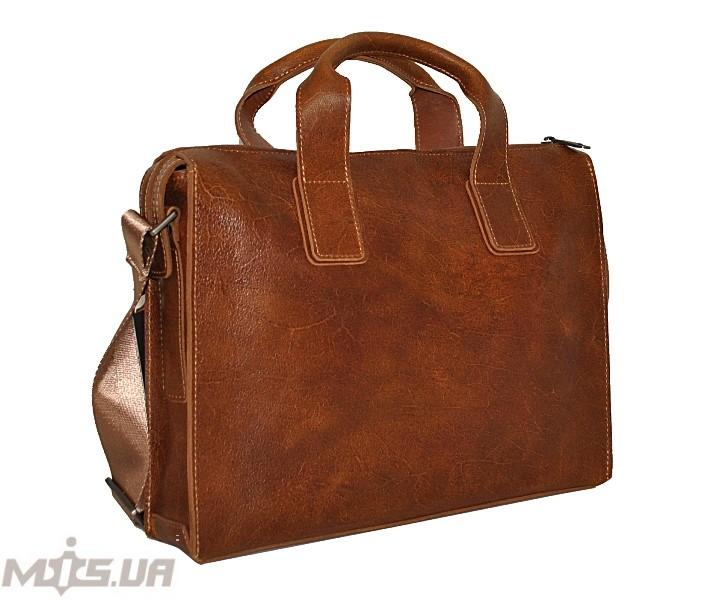 Мужской  портфель 4241 рыжий
