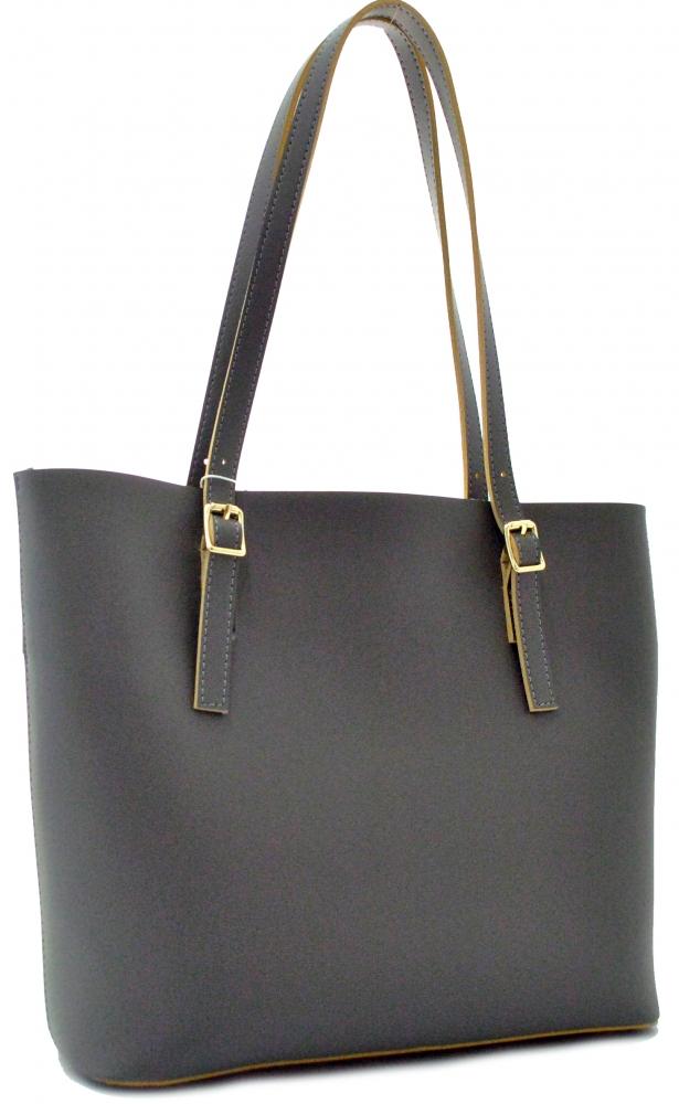 Женская сумка 35445 темно-серая