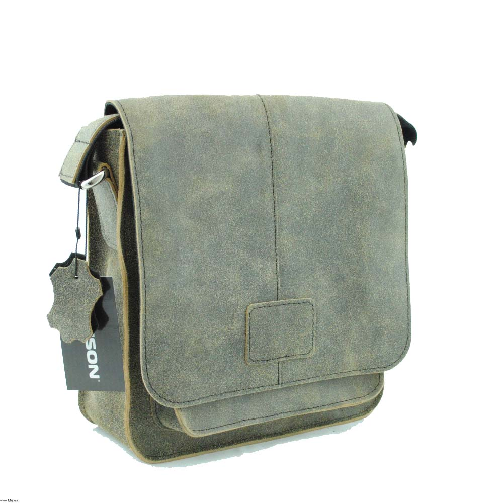 Мужская кожаная сумка 4229 крек