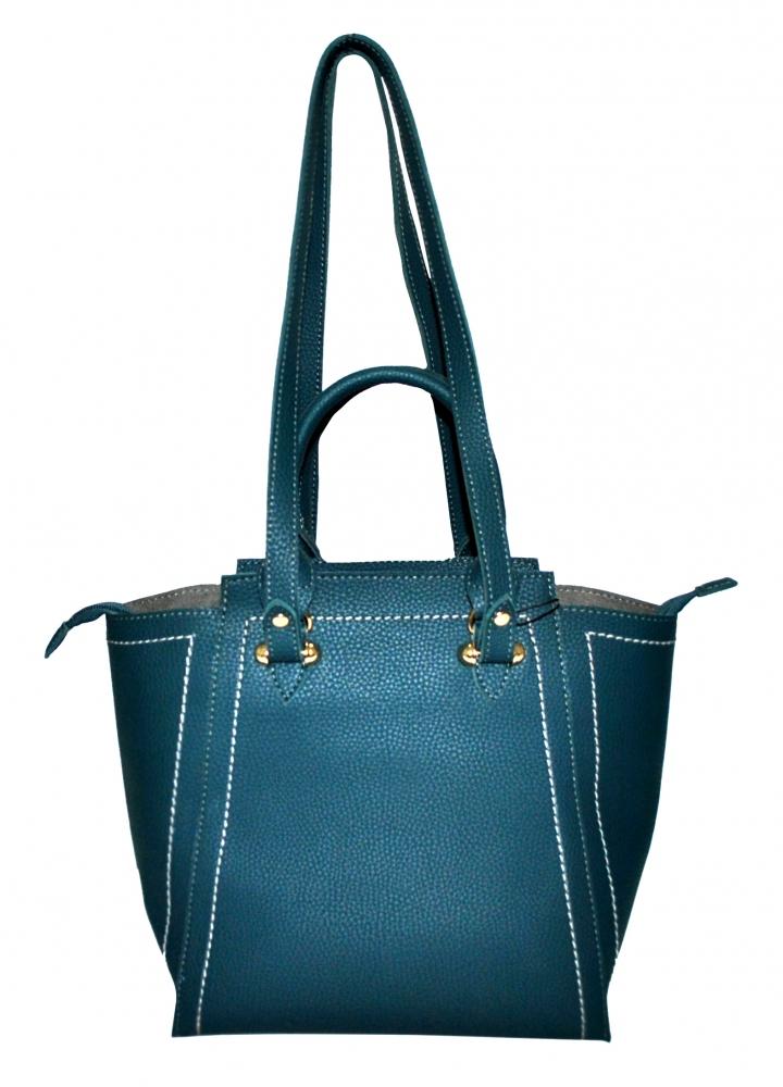 Женская сумка 35522 темно-бирюзовая