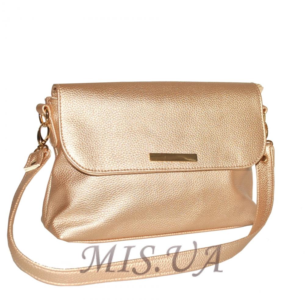 Женская сумка 35591 - 1 светло-золотая