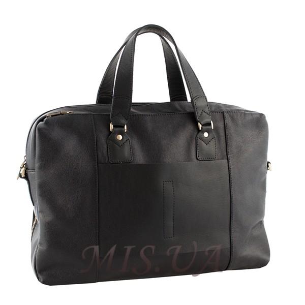 Мужской портфель кожаный Vesson 4536 черный