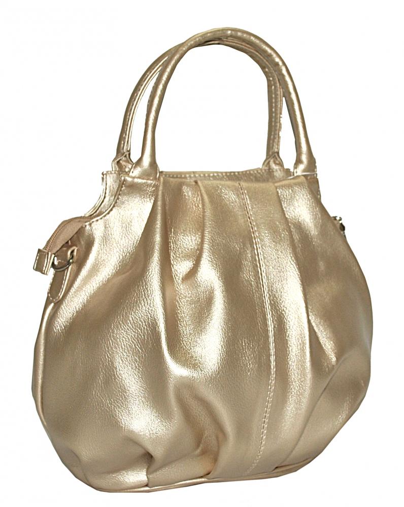 Жіноча сумка 35440 золотиста