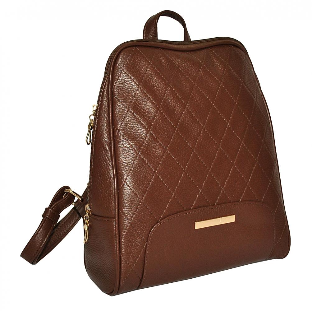 Женский рюкзак 2518 коричневый