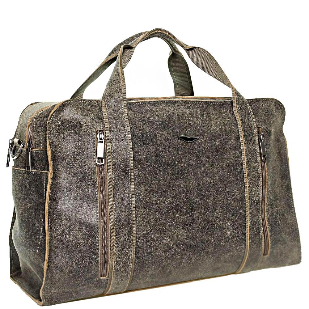 Men's handbag 4357 khaki