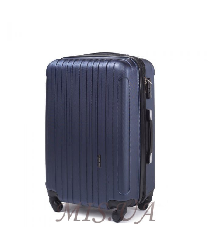 Suitcase 389512 dark blue(копия)(копия)(копия)