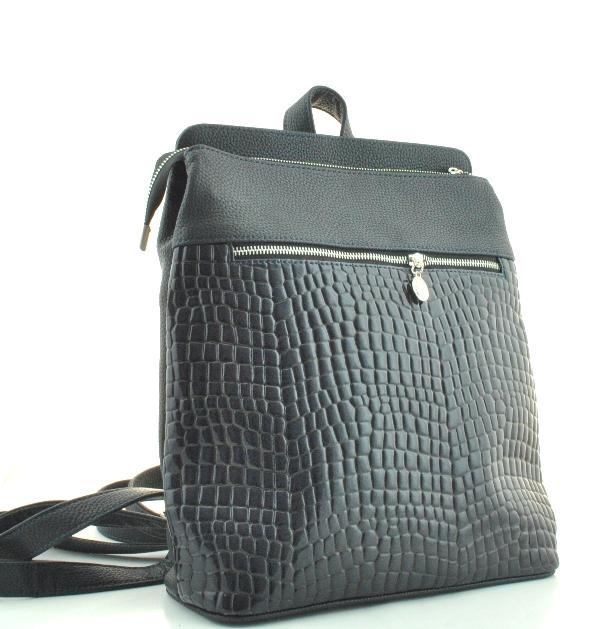 Женский рюкзак 35332 темно-синий