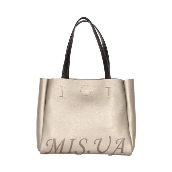 Женская сумка 35458 серебристая