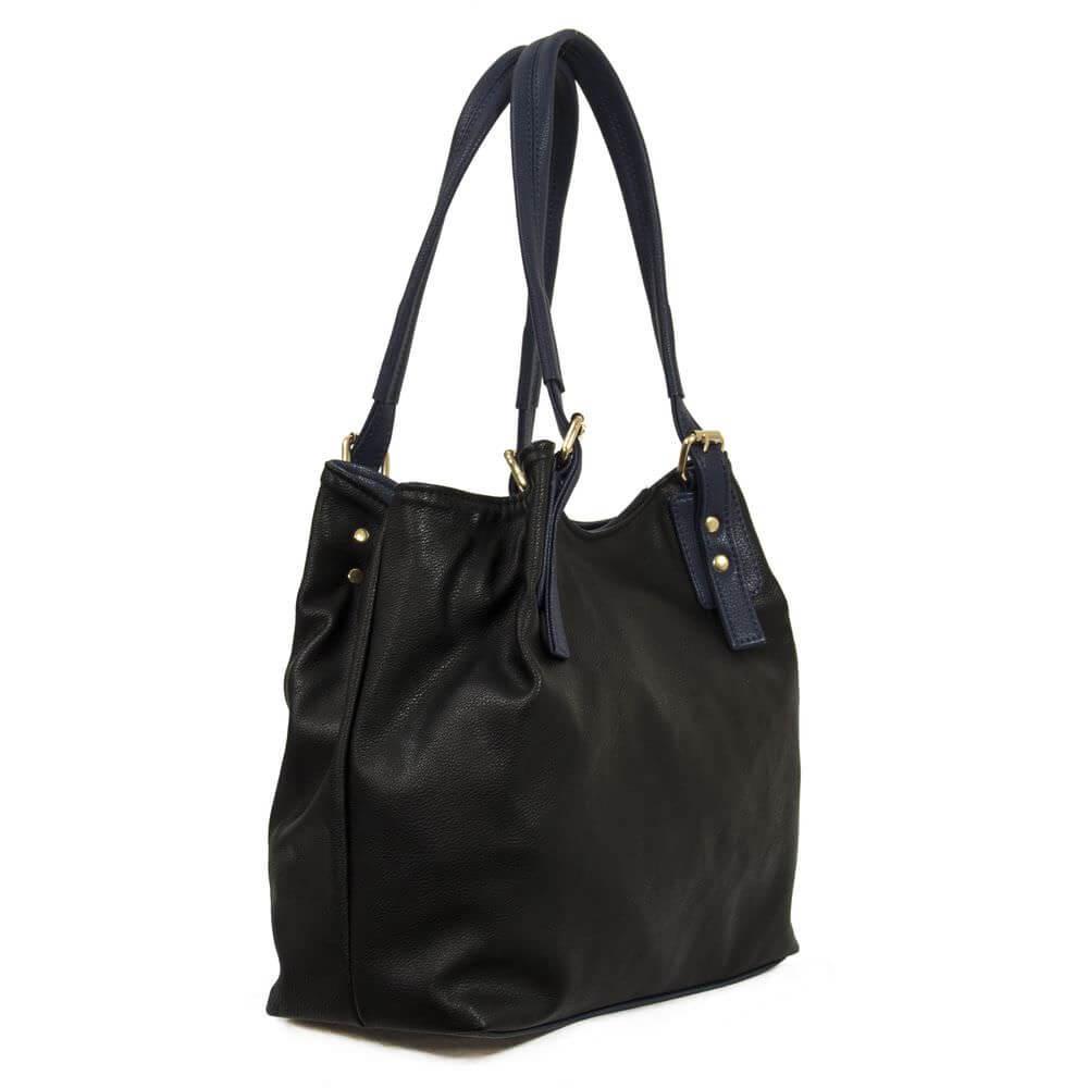 Женская сумка 35294 черная с синим