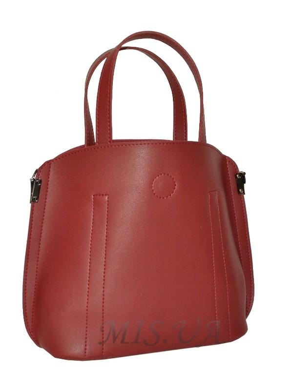 Жіноча сумка 35634 бордова