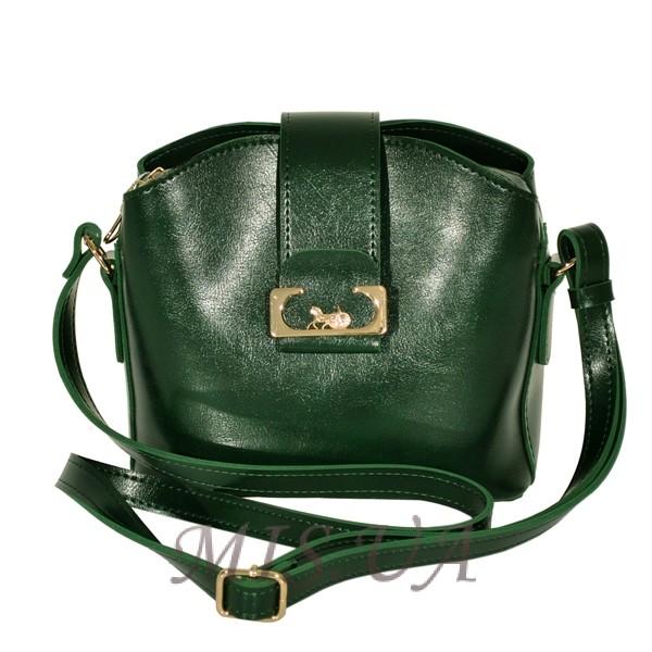 Женская сумка 35673 зеленая