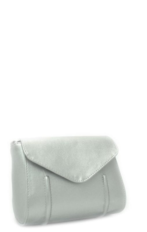 Женская сумка 35419 серебристая