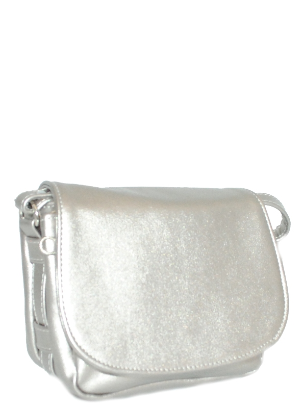 Женская сумка 35441 серебряная