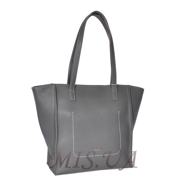 Женская сумка MIC 35760 серая