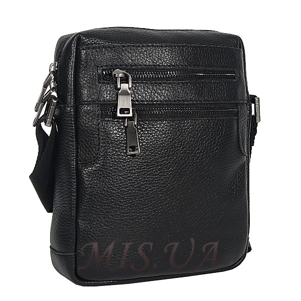 Men's leather bag 4584 is black(копия)