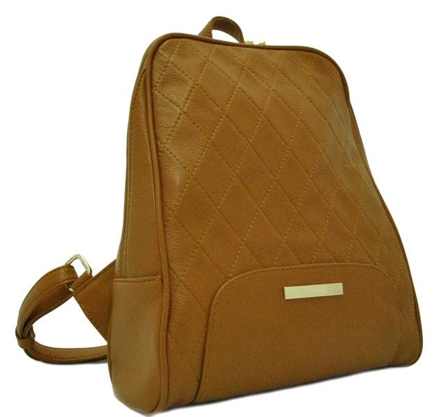 Женский рюкзак 2518 рыжий