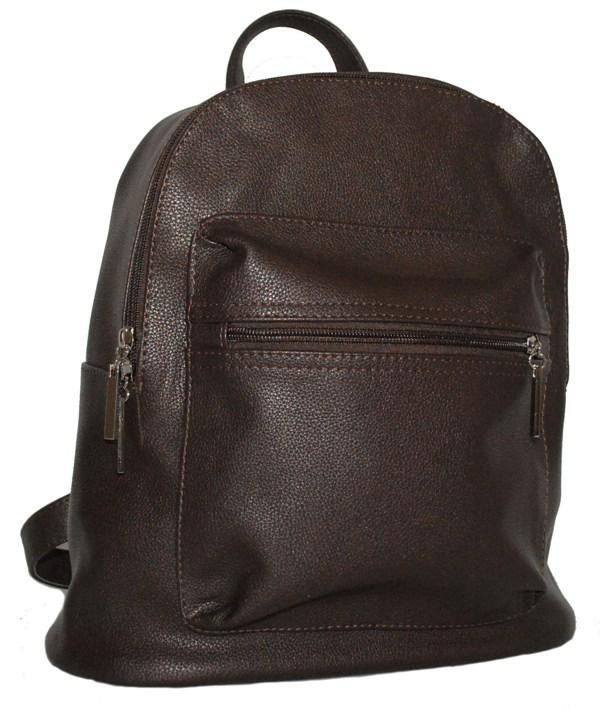 Городской рюкзак 34236 темно-коричневый