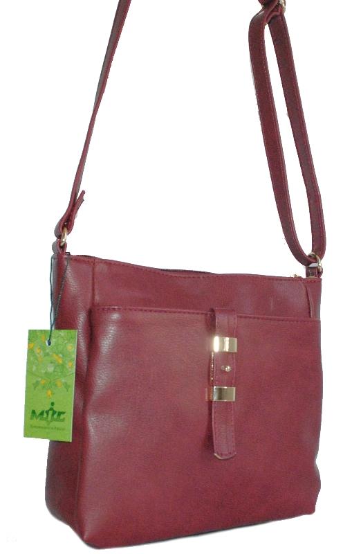 Женская сумка 35447 бордовая