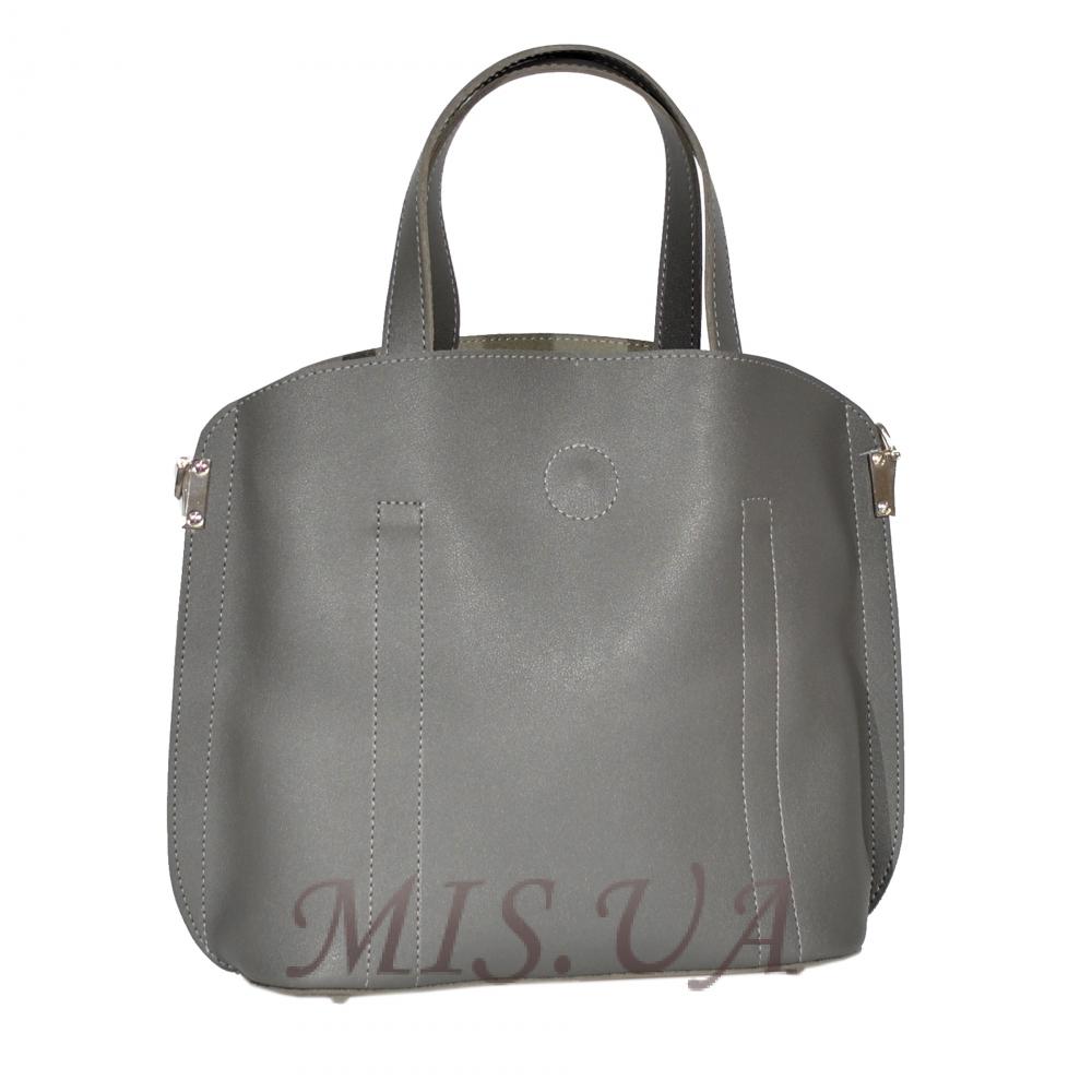 Женская сумка 35634 серая