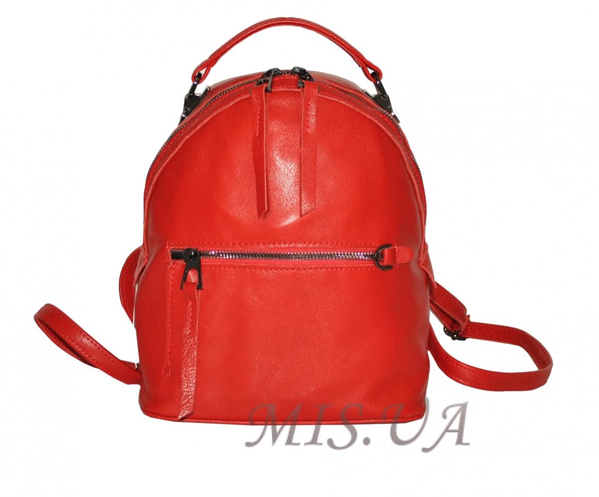 Жіночий рюкзак 2537 червоний